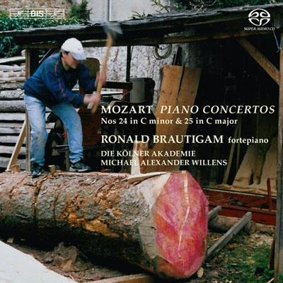 ロナルド・ブラウティハム/モーツァルト: ピアノ協奏曲第24番, 第25番 [KKC5259]