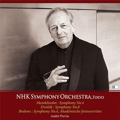 メンデルスゾーン: 交響曲第4番「イタリア」; ドヴォルザーク: 交響曲第8番; ブラームス: 大学祝典序曲 Op.80, 他