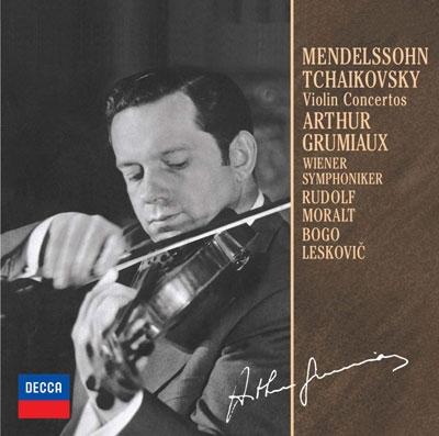 アルテュール・グリュミオー/メンデルスゾーン、チャイコフスキー:ヴァイオリン協奏曲<限定盤>[UCCD-9809]