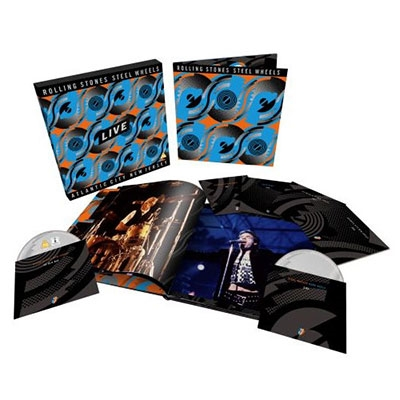 Steel Wheels Live (Limited Edition Collector's Set) [Blu-ray Disc+2DVD+3CD]<限定盤> Blu-ray Disc