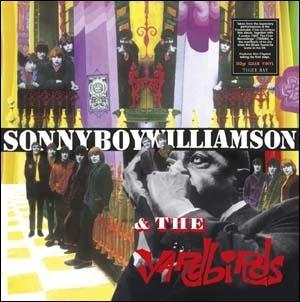 The Yardbirds/Yardbirds With Sonny Boy Williamson<Clear Vinyl/限定盤> [TB6096C]