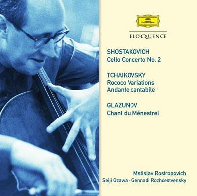 ムスティスラフ・ロストロポーヴィチ/Shostakovich: Cello Concerto No.2; Tchaikovsky: Rococo Variations Op.33; Glazunov: Chant du Menestrel Op.71, etc[4806569]