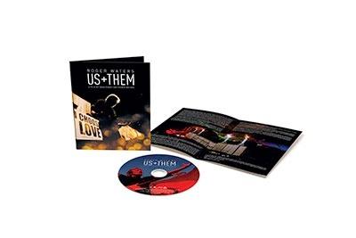 Us + Them Blu-ray Disc