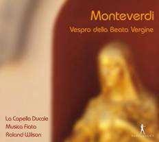 ローランド・ウィルソン/モンテヴェルディ: 聖母マリアの晩課 (1610年ヴェネツィア刊) [PC10240]