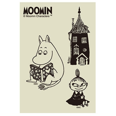 MOOMIN デコクリアステッカー/ムーミン谷 [MMST1819 ]