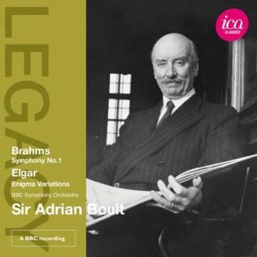 エイドリアン・ボールト/ブラームス: 交響曲第1番、エルガー: エニグマ変奏曲[ICAC5019]