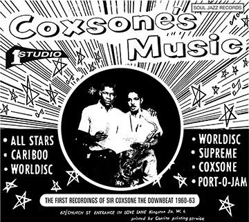コクソンズ・ミュージック: ザ・ファースト・レコーディングス・オブ・サー・コクソン・ザ・ダウンビート1960-63[SJRCD-323JP]