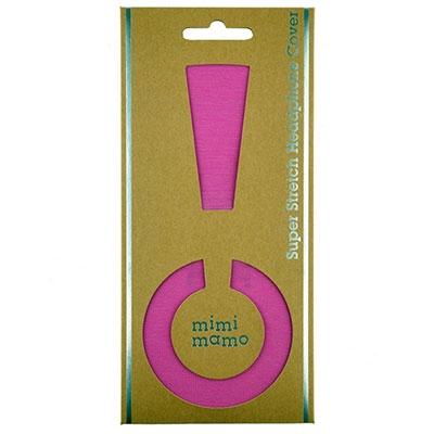mimimamo ストレッチヘッドカバーL/Pink [MHC-002-PK]