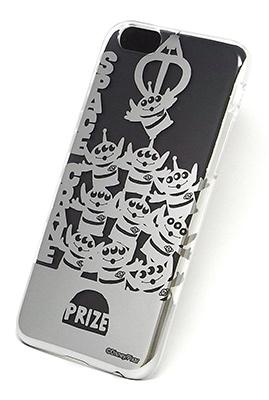 ディズニー iPhone6 カスタムカバー シルバー (エイリアン シルエット) [RUNA239491]