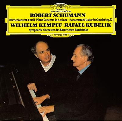 ヴィルヘルム・ケンプ/シューマン: ピアノ協奏曲, ピアノ小協奏曲; ピアノ協奏曲 (1953年録音) [PROC-1730]