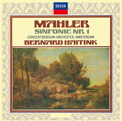 ベルナルト・ハイティンク/マーラー: 交響曲第1番《巨人》(1972年録音)、さすらう若人の歌<タワーレコード限定>[PROC-2207]