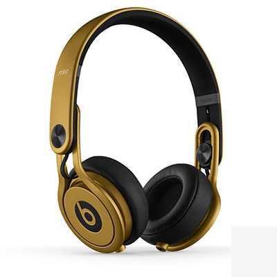 beats by dr.dre Mixr ハイパフォーマンスプロフェッショナルヘッドフォン Gold