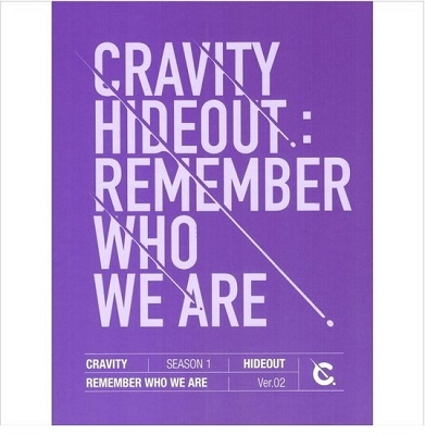 Cravity Season1 Hideout: Remember Who We Are (Ver.2) CD