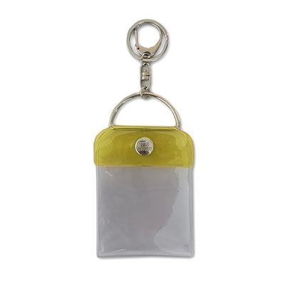 タワレコ 缶バッジキーホルダー57mm用 Yellow[MD01-5815]