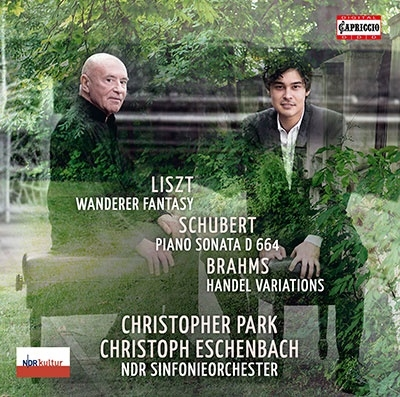 クリストファー・パーク/シューベルト(リスト編): さすらい人幻想曲、シューベルト: ピアノ・ソナタ第13番、ブラームス: ヘンデルの主題による変奏曲[C5412]