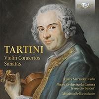 ラウラ・マルツァドーリ/タルティーニ: ヴァイオリン協奏曲、ソナタ集[BRL95769]