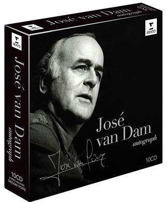Jose van Dam - Autograph<限定生産盤> CD
