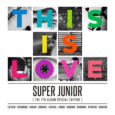 This is Love: Super Junior Vol.7 Special Edition (ランダムバージョン) CD