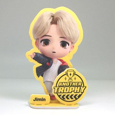 TinyTAN 空気洗浄防臭スタンディングポスター(Yellow)/JIMIN Accessories