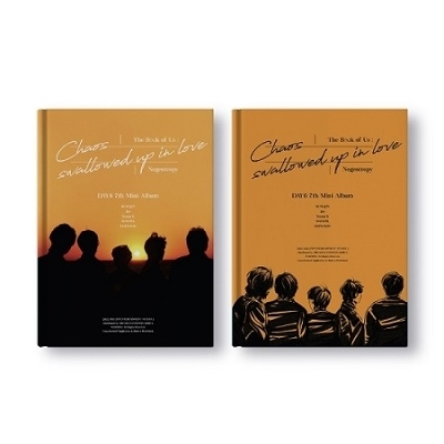 DAY6/The Book of Us: Negentropy - Chaos swallowed up in love: 7th Mini Album (ランダムバージョン)[JYPK1230]