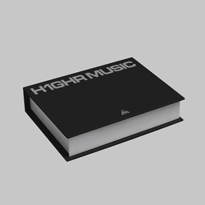 H1GHR MUSIC 1st Compilation Album - [H1GHR: RED TAPE] & [H1GHR: BLUE TAPE] CD