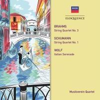 ウィーン・ムジークフェライン弦楽四重奏団/Brahms: String Quartet No.3; Schumann: String Quartet No.1; H.Wolf: Itailian Serenade[4807399]