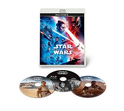 スター・ウォーズ/スカイウォーカーの夜明け MovieNEX [2Blu-ray Disc+DVD]<通常版> Blu-ray Disc
