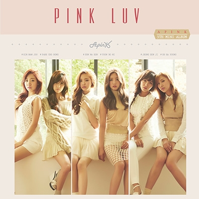 Pink LUV: 5th Mini Album CD