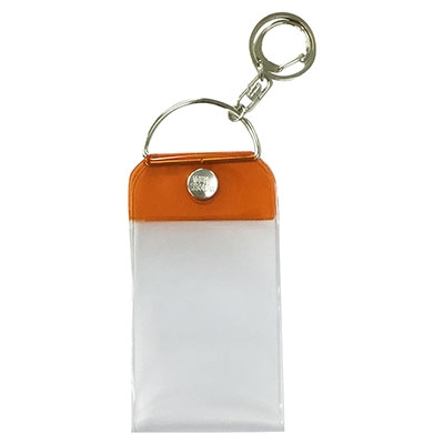 タワレコ チェキサイズキーホルダー Orange[MD01-3452]