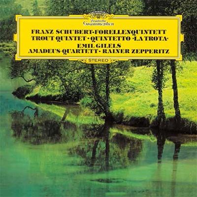 アマデウス弦楽四重奏団/シューベルト: ピアノ五重奏曲「ます」 他<タワーレコード限定>[PROC-1539]