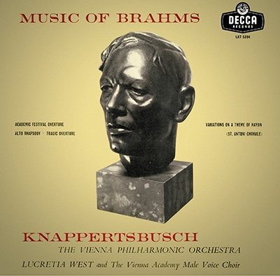ハンス・クナッパーツブッシュ/ブラームス: 大学祝典序曲, ハイドンの主題による変奏曲, アルト・ラプソディ, 悲劇的序曲 [PROC-1667]