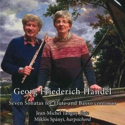 ジャン=ミシェル・タンギー/ヘンデル: フルートと通奏低音のための7つのソナタ[CL19149]