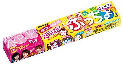 ぷっちょワールド第5弾 AKB48 × ぷっちょ (12個入)