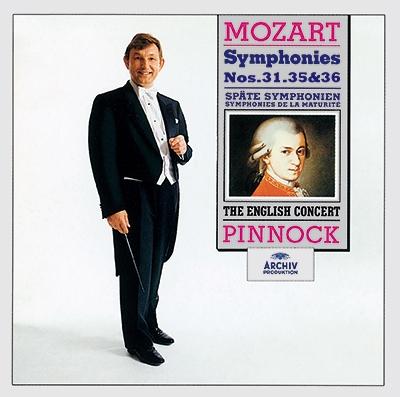 トレヴァー・ピノック/モーツァルト: 交響曲第31番「パリ」, 第35番「ハフナー」, 第36番「リンツ」<タワーレコード限定>[PROC-1765]