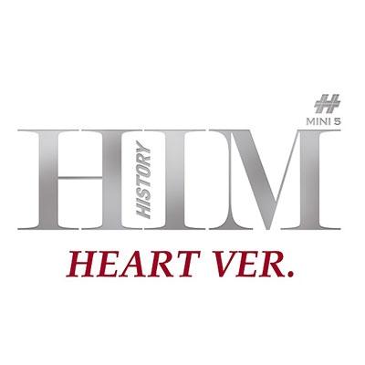 History (Korea)/Him: 5th Mini Album (Heart Version)[L100005195]
