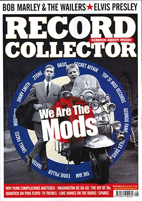 RECORD COLLECTOR 2017年9月号 [25023]