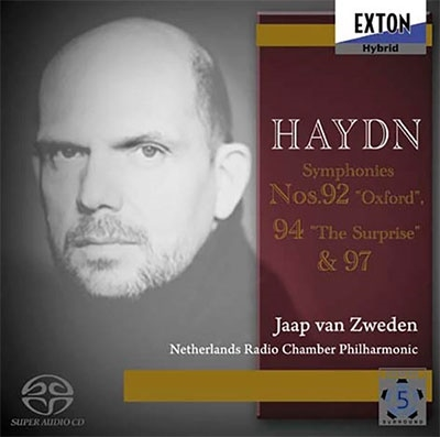 ハイドン:交響曲 第92番「オックスフォード」 第94番「驚愕」 第97番<数量限定盤>