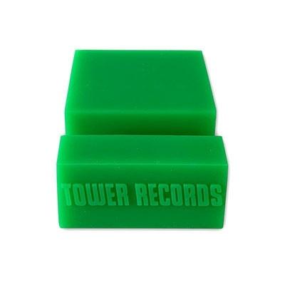 タワレコ (スマホにも使える)CDスタンド Green Accessories
