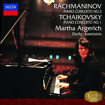 マルタ・アルゲリッチ/チャイコフスキー:ピアノ協奏曲第1番/ラフマニノフ:ピアノ協奏曲第3番[UCCP-7003]