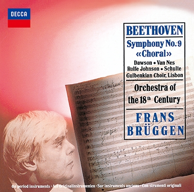フランス・ブリュッヘン/ベートーヴェン: 交響曲第9番「合唱」, 序曲「コリオラン」, 「エグモント」 [PROC-1752]