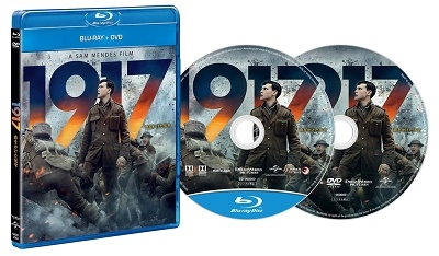 1917 命をかけた伝令 [Blu-ray Disc+DVD] Blu-ray Disc
