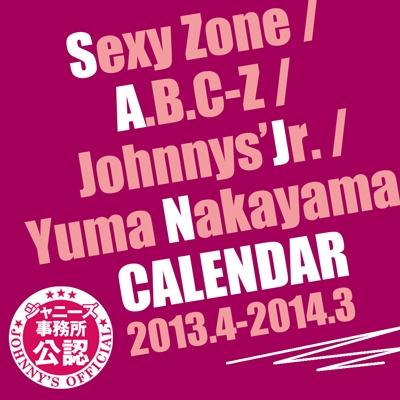 Sexy Zone/Sexy Zone/A.B.C-Z/ジャニーズJr./中山優馬 カレンダー 2013.4-2014.3[9784847045196]