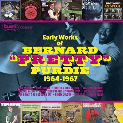 バーナード・パーディの初期仕事、グルーヴマスターが60年代に叩いた名演26選[ODR6969]