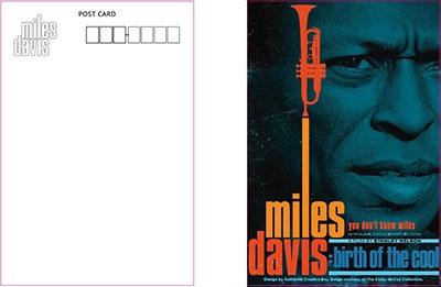 Miles Davis/Birth Of The Cool Postcard[UEZZ-2804]