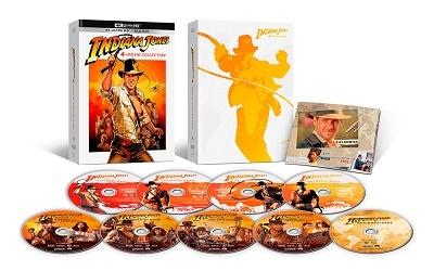 インディ・ジョーンズ 4ムービーコレクション 40th アニバーサリー・エディション [4K Ultra HD Blu-ray Disc x4+5Blu-ray Disc]<限定版>