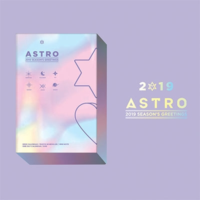 ASTRO 2019 SEASON'S GREETINGS HOLIDAY Ver. [CALENDAR+GOODS+DVD]<タワーレコード限定発売> Book