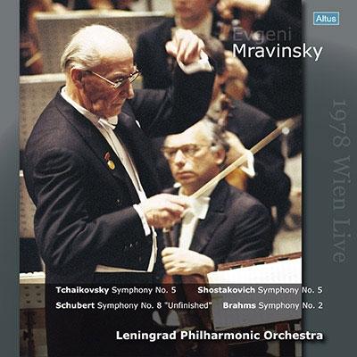 エフゲニー・ムラヴィンスキー/チャイコフスキー: 交響曲第5番; ショスタコーヴィチ: 交響曲第5番; シューベルト: 交響曲第7(8)番, 他 [ALTLP098]