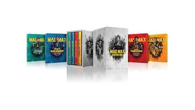 マッドマックス アンソロジー [4K Ultra HD Blu-ray Disc x4+5Blu-ray Disc]<メタルケース&スチールブ Ultra HD