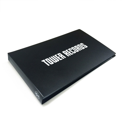 TOWER RECORDS チケットファイル BLACK Accessories