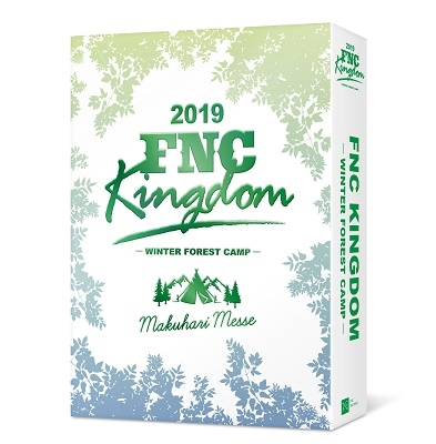 2019 FNC KINGDOM -WINTER FOREST CAMP- [3DVD+ミニポスター+フォトブック]<完全生産限定盤> DVD